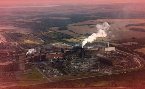 British Steel plant in Scunthorpe. Credit: Geograph.org.uk